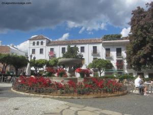 Estepona - Plaza de las flores