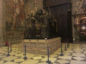 Séville - Tombeau de Christophe Colomb