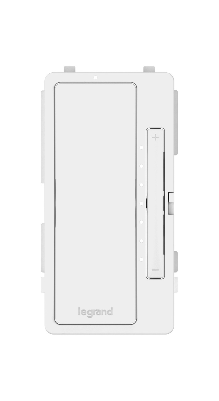 medium resolution of interchangeable face cover for multi location master dimmer white