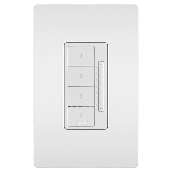 3 way switch dimmer wiring diagram accounting cycle radiant tru universal single pole white legrand rf scene controller
