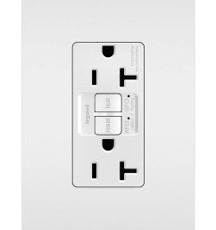 dual function tamper resistant 20a afci gfci receptacle white [ 1920 x 2600 Pixel ]