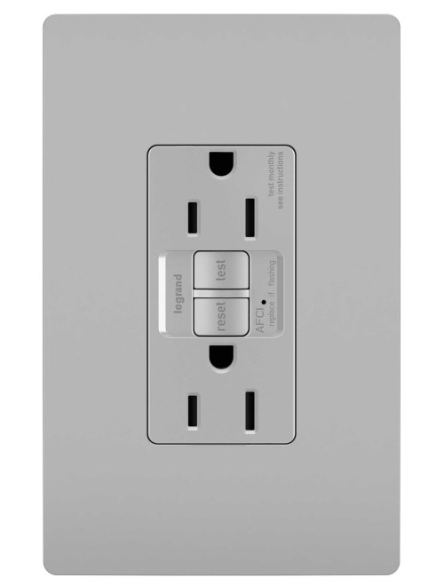 small resolution of radiant duplex receptacle gray legrandstar wiring receptacles 4