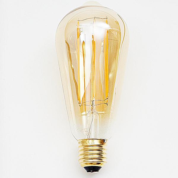 """Ampoule """"Edison"""" à filament de led"""