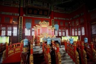 Salle du trône de l'Empereur dans le Collège Impérial