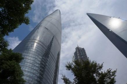 """Shanghai Tower, tour Jinmao et """"Décapsuleur"""""""