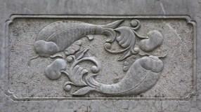 Détail sculpté
