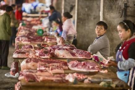 Etalage de viande