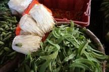 Shitake et verdure