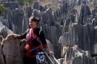 Une touriste chinoise à Shilin