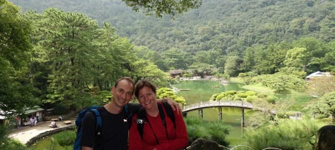 Le jardin Ritsurin avec Masashi Fuké et ses sanuki udon