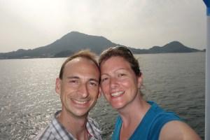 Avant la baignade à Gogoshima