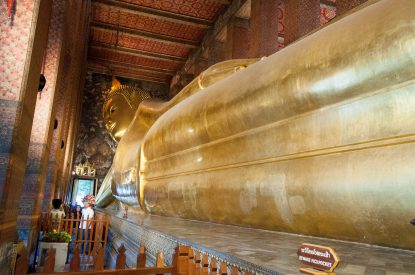 Le GRAND Bouddha couché