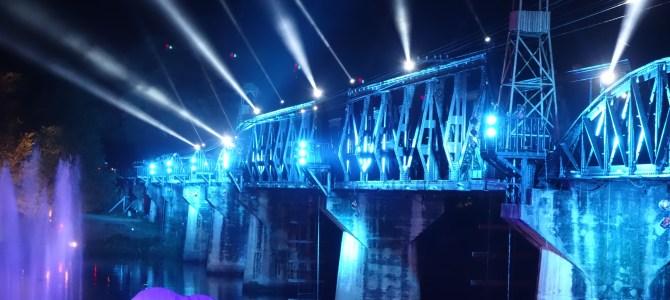 Kanchanaburi et le pont de la rivière Kwae