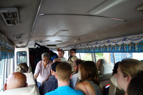 Bus to the boat