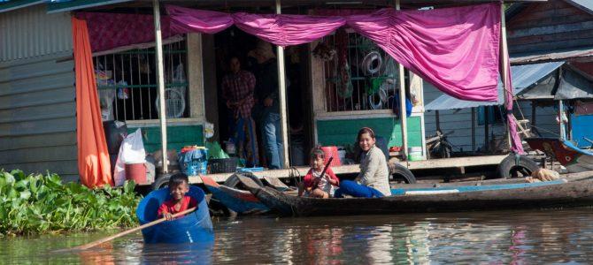 Siem Reap – Battambang en longtail boat