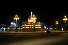 Kampot's durian roundabout