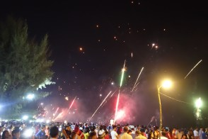 So many people and explosives!