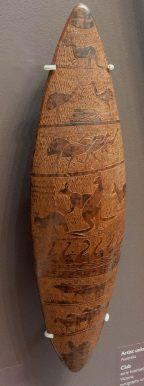 Peinture sur écorce - Painting on bark
