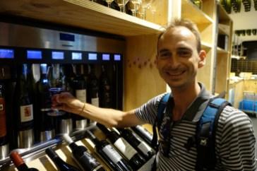 Distributeur automatique de vin - Wine dispenser