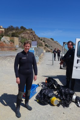 Avec Rob notre dive master - With Rob our Divemaster