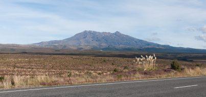 Le volcan Ruapehu - Ruapehu volcano