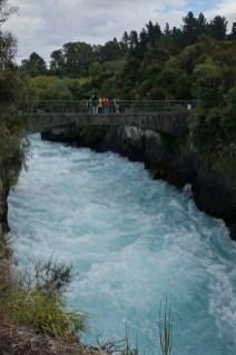 Huka falls - Chute d'Huka