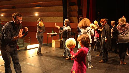 atelier de pratique autour de la création de Peau d'âne, avec Dominique Habouzit