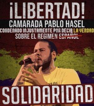 Le rappeur Pablo Hasel bientôt en prison — T 34