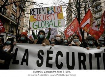 Des flics devant, des agresseurs dans le dos : la manif du 5 décembre telle que vécue dans le cortège syndical — Des communistes libertaires syndiqués à la CGT et à Solidaires