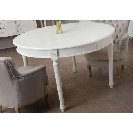 Table Ronde Blanche Pas Chre 120 Cm Amadeus