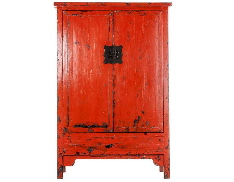 Meuble Asiatique Rouge Maison Design