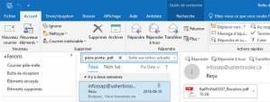 Voyez ce que la recherche avancée d'Outlook vous permet