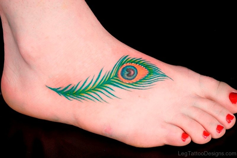 Peacock Feather Tattoo Designs On Hand