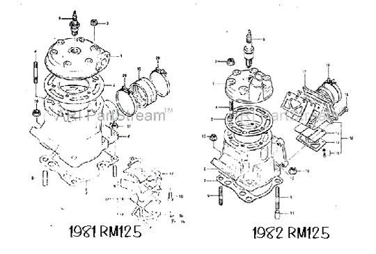 1983 Yamaha Yz 125 Picture 1638039