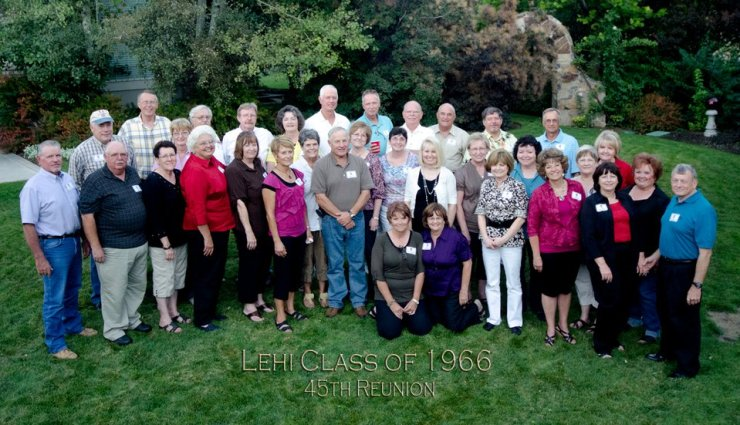 The Lehi Class of 1966 45th reunion.
