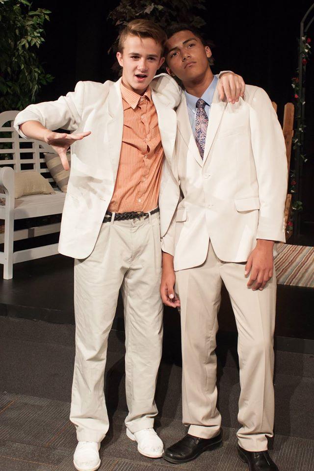 Dustin Poyfair and Daimion Davis. Photo: Abby Fillmore