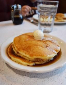 Signature Buttermilk Pancakes at the new location of The Original Pancake House in Lehi. | Nicole Kunze