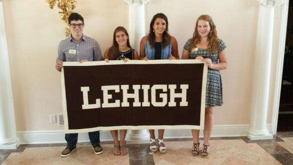 Lehigh Class of 2019 members at the Pittsburgh Sendoff.