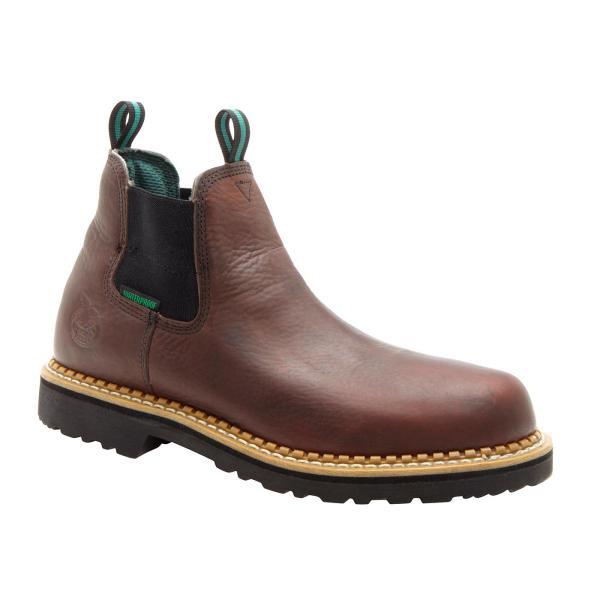 Waterproof Romeo Slip- Shoes Georgia Boot Style #gr500