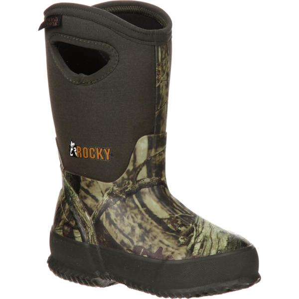 Kids' Rubber Waterproof Insulated Pull- Boot Rocky Core