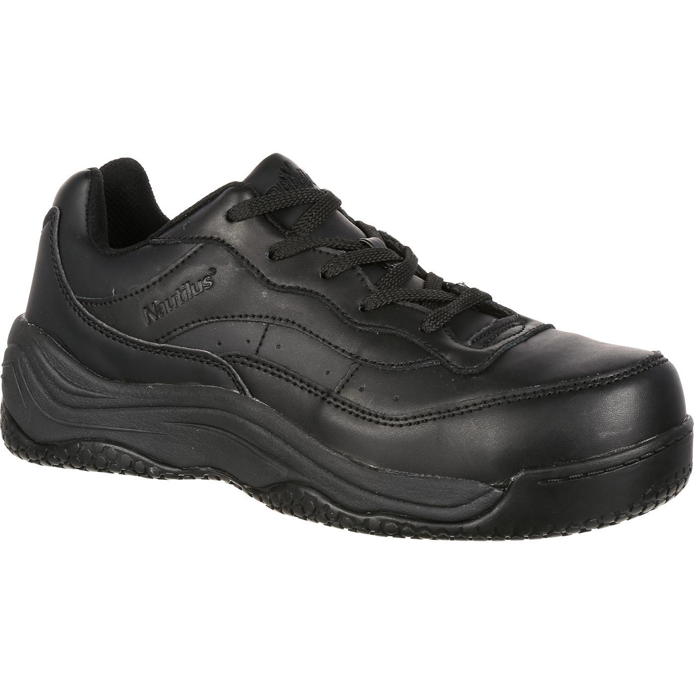 Slip Resistant Slip On Work Shoes