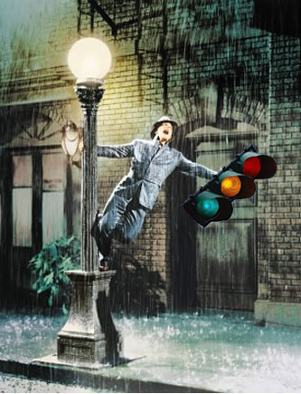 Signal in the rain