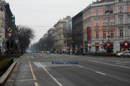 budapestin katukuvaa