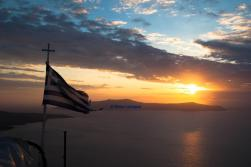 santorini sunset 2