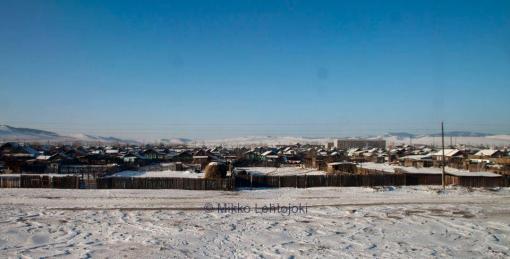 maisemia mongolian rajalta