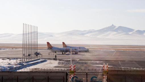 ub:n lentokenttä