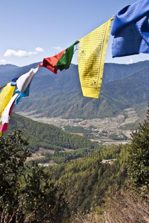 bhutanin upea luonto