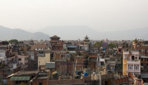 rooftop view kathmandu