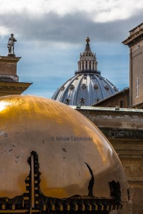 golden dome in st. peters