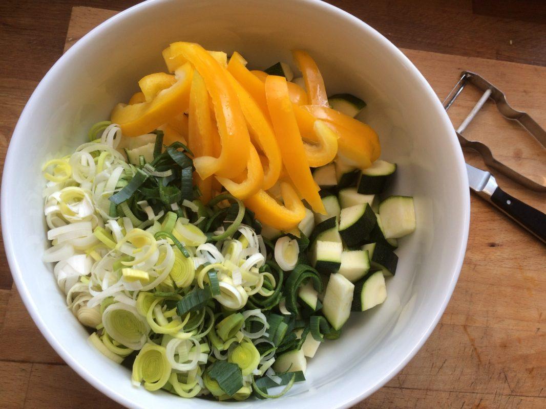 Zucchini-Bohnen-Topf*****